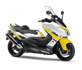 Carena in ABS Yamaha TMAX 500 08 11 Anniversary giallo