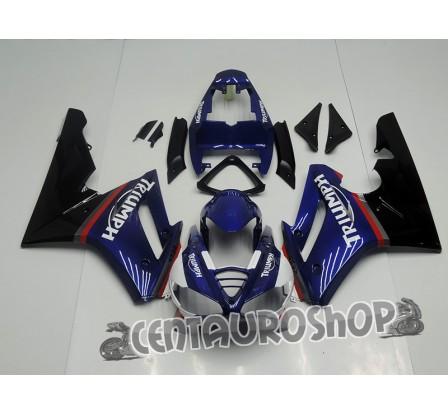 Carena in ABS Triumph Daytona 675 Racing blue