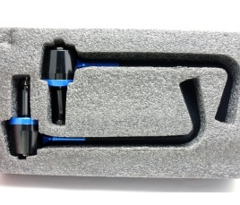 Paraleve standard mod 004 proteggi leve frizione e freno anteriore