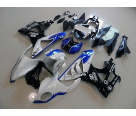 Carena in ABS per BMW S 1000 RR HP4 bianco e blu