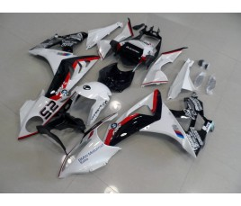 Carena in ABS per BMW S 1000 RR tricolor CIV SBK