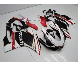 Carena in ABS Ducati 1199 verniciatura Custom racing Matt Black
