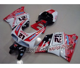 Carena in ABS Ducati 748 916 996 998 Troy Bayliss replica SBK