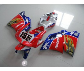 Carena in ABS Ducati 748 916 996 998 Ben Bostrom replica