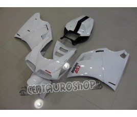 Carena in ABS Ducati 748 916 996 998 bianca e nera
