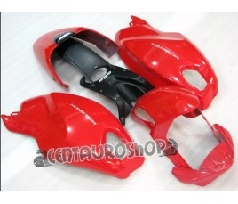 Carena in ABS Ducati Monster 696 796 1100 1100S all red