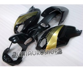 Carena in ABS Ducati Monster 696 796 1100 1100S nero lucido e oro