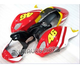 Carena in ABS Ducati Monster 696 796 1100 1100S Valentino Rossi 46 replica