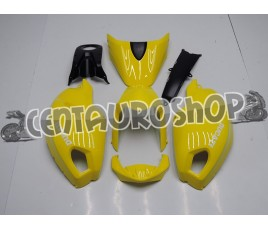 Carena in ABS Ducati Monster 696 796 1100 1100S total yellow