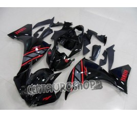 Carena ABS Yamaha YZF 1000 R1 12 13 classic black and red
