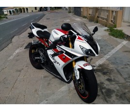 Carena in ABS Triumph Daytona 675 06 08 racing tricolor