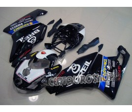 Carena in ABS Ducati 749 999 SBK Black breil
