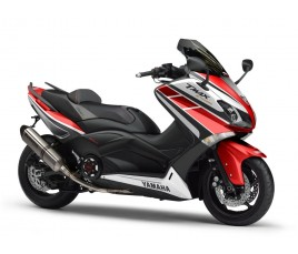 Carene in ABS Yamaha TMAX 530 2012 13 Anniversary red
