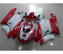 Carena in ABS Ducati 749 999 rosso e bianco