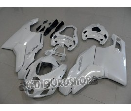 Carena in ABS Ducati 749 999 all white