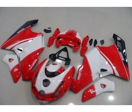 Carene in ABS Ducati 749 999 rosso bianco e nero schema 1