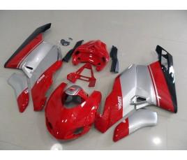 Carena in ABS Ducati 749 999 05 07 Rosso e argento