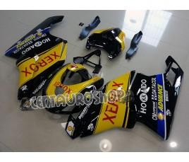 Carena in ABS Ducati 749 999 05 07 SBK Xerox giallo e nero