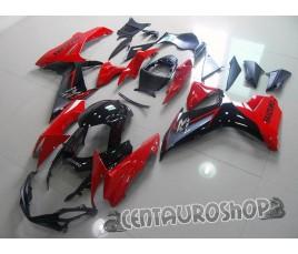 Carena ABS Suzuki GSX-R 600 e 750 2011 rossa e nera