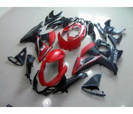 Carena in ABS Suzuki GSX-R 1000 09 13 Red and Black