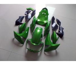 Carene per Kawasaki Z1000 2010 2013 Lime Green classic
