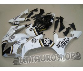 Carena in ABS Yamaha YZF 1000 R1 04-06 White Lucky Strike