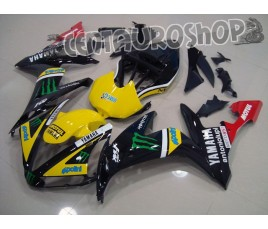 Carena in ABS Yamaha YZF 1000 R1 04-06 Tech 3 MotoGP