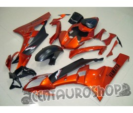 Carena in ABS Yamaha YZF 600 R6 06 07 Orange & Black