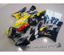 Carena in ABS Yamaha YZF 600 R6 06 07 Sole e Luna