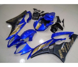 Carena ABS Yamaha YZF600 R6 06 07 Blue Black & Gold