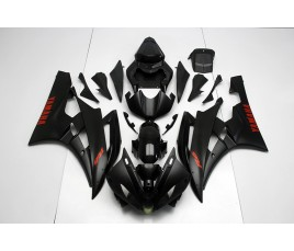 Carena in ABS Yamaha YZF 600 R6 06 07 Matt Black