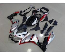 Carena per Aprilia RS4 50 o 125 in abs nera rossa e argento