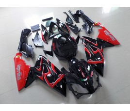Carena per Aprilia RS 125 in abs nera e rossa
