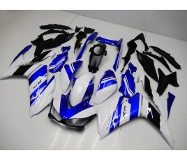 Carena ABS Yamaha YZF R3 2014 2015 tricolor blu bianco e nero