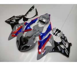 Carena in ABS per BMW S 1000 RR HP2 su base grey