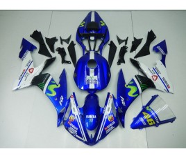 Carena in ABS Yamaha YZF 1000 R1 04-06 Rossi Moto GP replica
