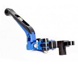 Kit leve freno frizione regolabili, pieghevoli ed allungabili blu