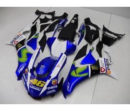 Carena ABS Yamaha YZF 1000 R1 2015 Yamaha team MotoGP