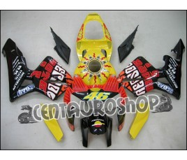 Carena in ABS Honda CBR 600 RR 05-06 replica Rossi Yellow