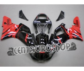 Carena in ABS Yamaha YZF 1000 R1 98-99 colorazione Red & Black