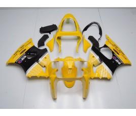 Carenatura in ABS Kawasaki ZX-6R Ninja 636 2000 2002 Yellow