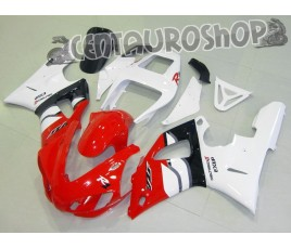Carena in ABS Yamaha YZF 1000 R1 98-99 colorazione CLASSIC RED & BLACK