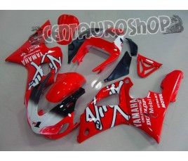 Carena in ABS Yamaha YZF 1000 R1 98-99 colorazione CLASSIC RED & WHITE