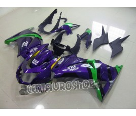 Carena Racing replica in ABS per Kawasaki Ninja 250 08-09