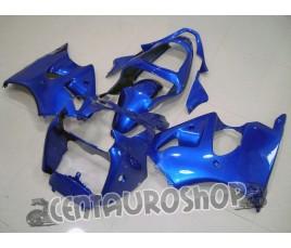 Carenatura in ABS Kawasaki ZX-6R Ninja 600 2000 2002 Blue