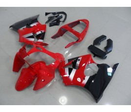 Carenatura in ABS Kawasaki ZX-6R Ninja 636 2000 2002 Red classic