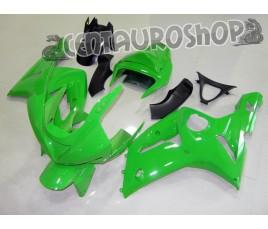 Carena in ABS Kawasaki ZX-6R Ninja 636 2003 2004 Light Green