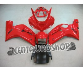 Carena in ABS Kawasaki ZX6R Ninja 636 03 04 colorazione Red