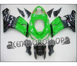 Carena in ABS Kawasaki ZX 6R Ninja 636 05 06 colorazione Elf