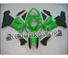Carene in ABS Kawasaki ZX6R Ninja 636 2005 2006 colorazione Green